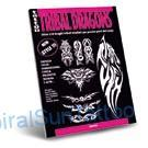 Tattoo flash   - Tribal Dragons