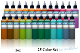 25 color INTENZE Ink set