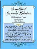100 Script and Cursive Alphabets Complete Fonts