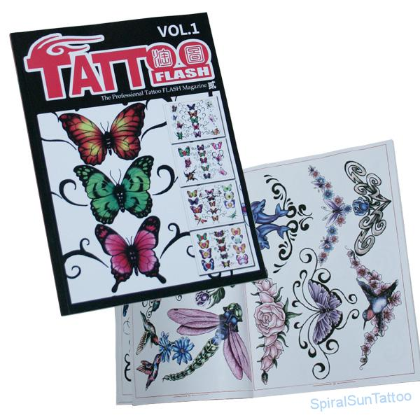 Knihy a asopisy tattoo flash 1 spiral sun tattoo supply for Motorcity tattoo supply
