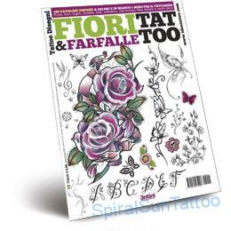 Tattoo flash   -Fiori e Farfalle