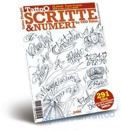 Tattoo flash - Scritte &  Numeri