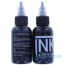 CHEYENNE INK Censored Black