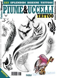 Tattoo flash-Piume e Uccelli