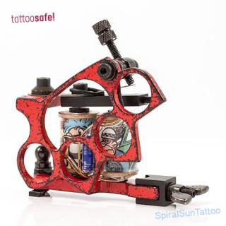B.C.I. Knuckle LinerRed Tattoomachine