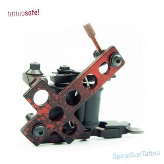 B.C.I. Antichrist red/black Shader Tattoomachine