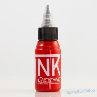 Cheyenne ink  Bright Red