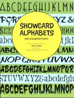 100 Showcard Alphabets Complete Fonts